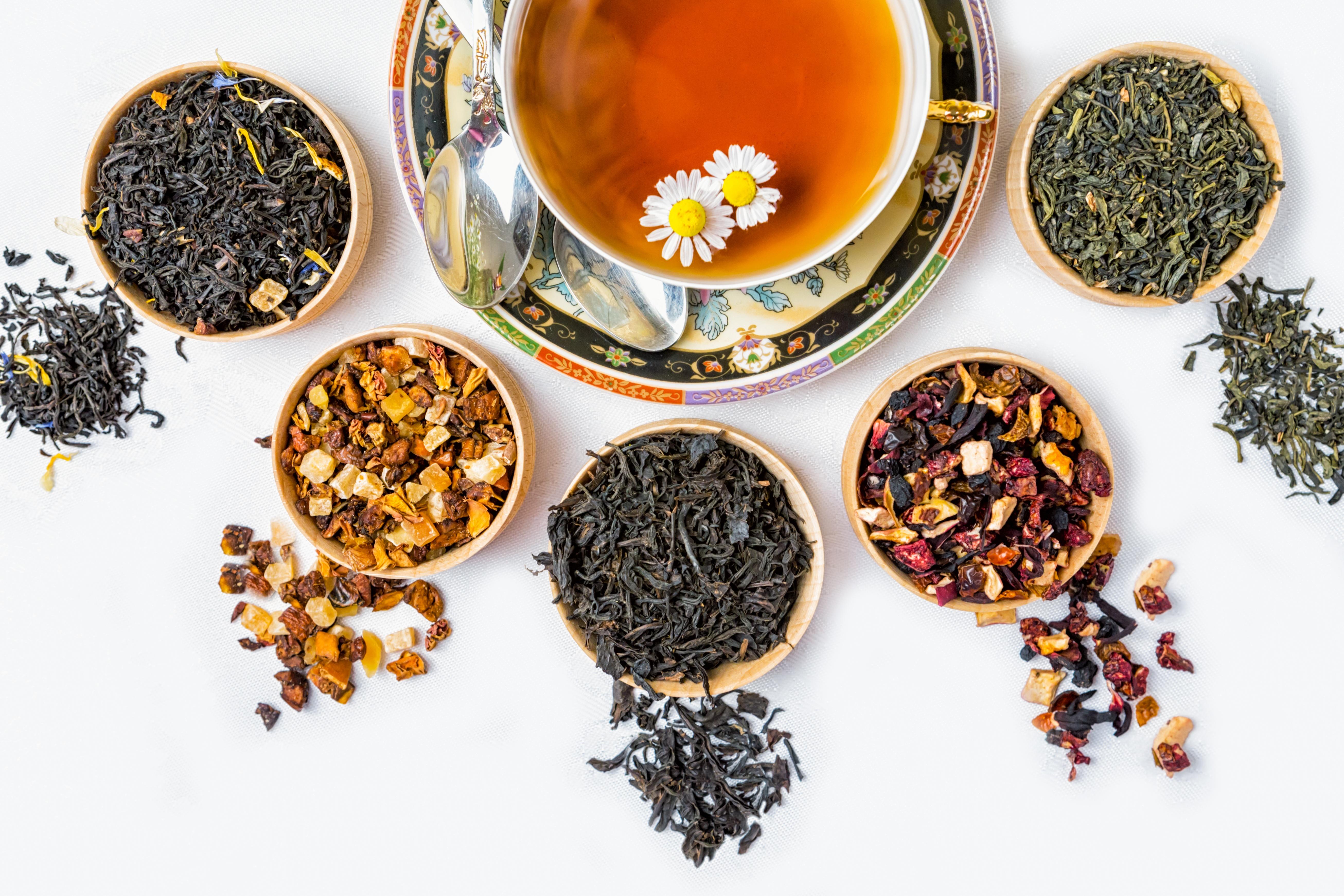 Five Teas to Tame Stress
